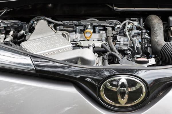 C-HRのエンジン